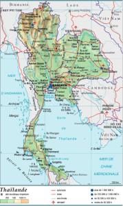 Carte de Thaïlande - cliquez pour agrandir