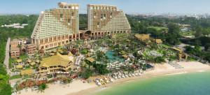 L'hôtel Centara Grand Mirage Beach Resort à Pattaya