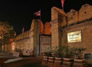 Porte de la vieille ville de Chiang Mai
