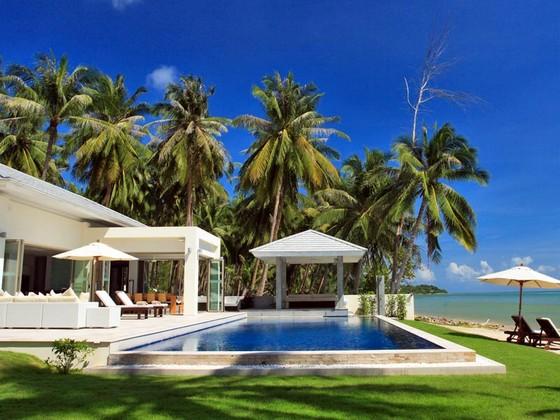 Maison de luxe avec piscine et plage privée