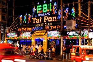La discothèque Tai Pan à Patong Beach
