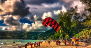 Parachute Ascensionnel à Patong Beach