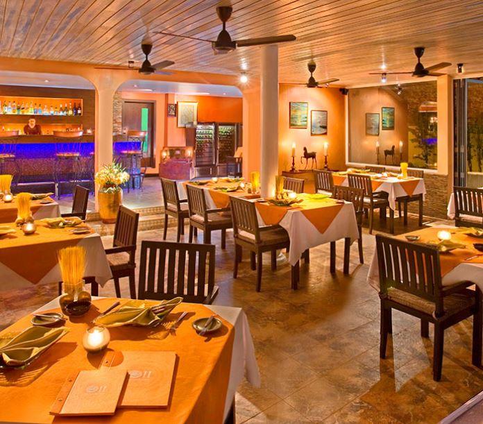 Le restaurant Ocean's Eleven à Bangrak à Koh Samui