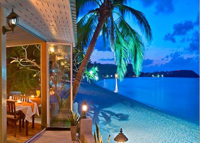 Le restaurant l'Ocean's Eleven à Bangrak, à koh Samui