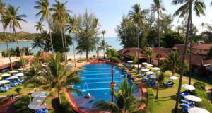 L'hôtel Samui Boat donnant sur la plage de Choeng Mon Beach
