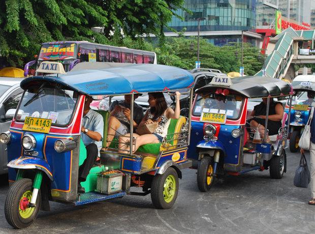 Tuk Tuk : Moyen de transport le plus utilisé à Bangkok