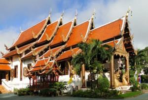 Le temple de Wat Ket Karam à Chiang Mai