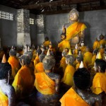 Les statues de Wat Samret
