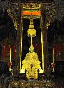 le bouddha d'émeraude