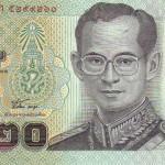 Billet de banque thaïlandais de 20 Bath