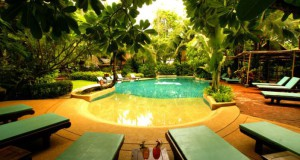 Piscine du Rabbit Resort à Pattaya