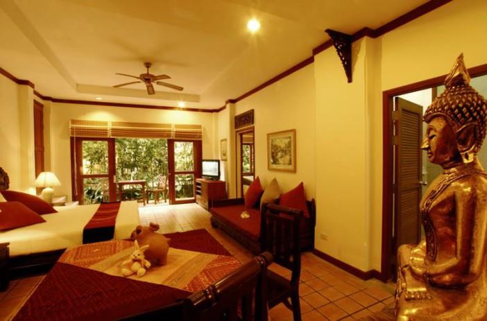 Chambre du resort Rabbit à Pattaya