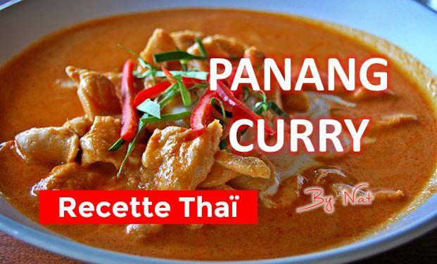 Recette thailandaise du Panang Curry