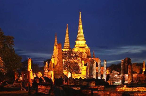 Le temple Wat Phra Si Sanphet