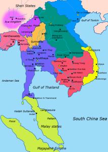 Asie du sud est en 1400