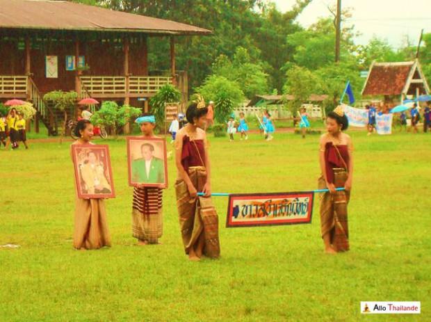 Fête de l'école du village