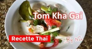 Recette thaïlandaise du Tom Kha Gai