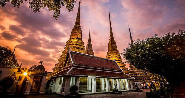 Le temple Wat Pho à Bangkok
