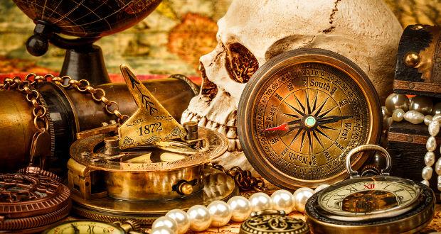 Le trésor du capitain William Kidd