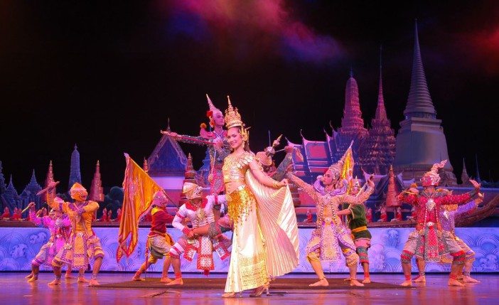 Le spectacle Alangkam à Pattaya