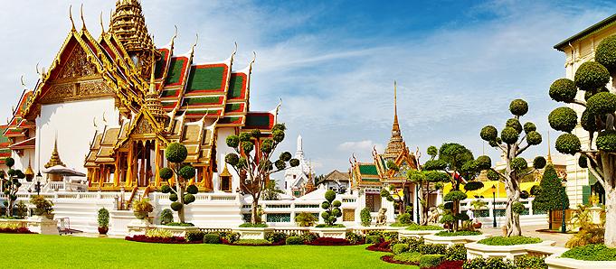 Le palais royal à Bangkok