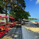 Un des hôtels situés sur Chaweng Beach