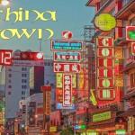 Le quartier de China Town à Bangkok