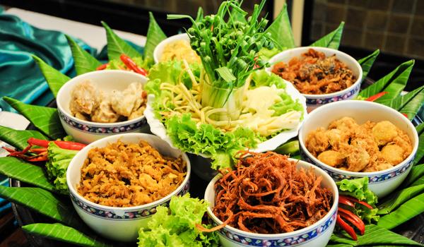 Exemple de repas Thailandais
