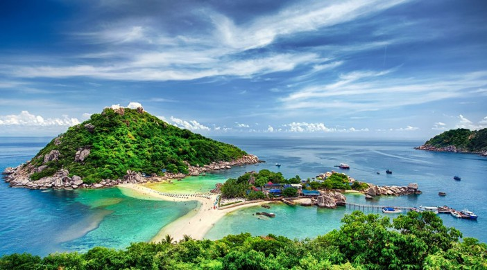 Ile de Koh Nang Yuang à Koh Tao