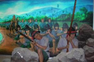 Défense de Phuket par deux soeurs lors de la Thalang War (Thalang National Museum)
