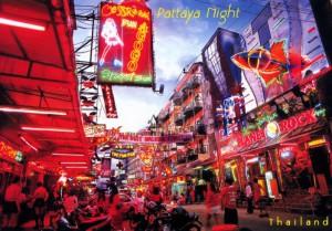 Walking Street à Pattaya