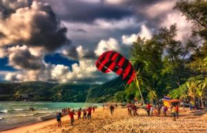 Parachute Ascensionnel à Patong Beach