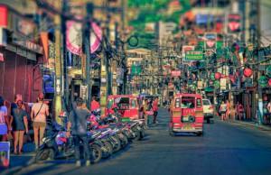 Rue à proximité de Patong Beach