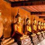 Le temple Wat Mahathat à Bangkok
