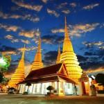 Le temple de Wat Pho à Bangkok