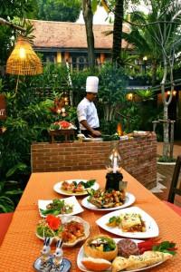 Le restaurant du Resort Rabbit à Pattaya