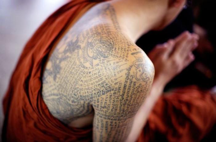 tatouage thailandais un savoir faire ancestral allo thailande. Black Bedroom Furniture Sets. Home Design Ideas
