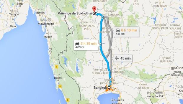carte-trajet-sukhothai