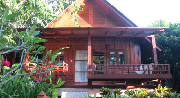 Le Green Papaya Resort (à partir de 43 euros la chambre)