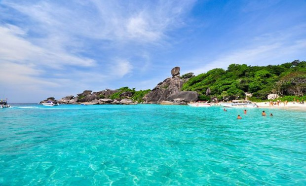 Les îles Similan Island