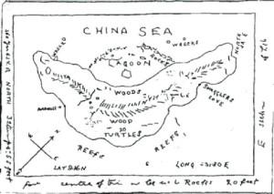 Quatrième carte du trésor du capitaine Kidd